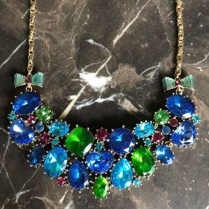 Betsey Johnson Vintage Gemstone Necklace